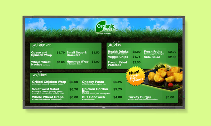 Digital Menu Boards – More Than Meets the Eye