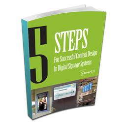 Content eBook digital signage downloads