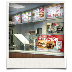 Food Service Digital Signage