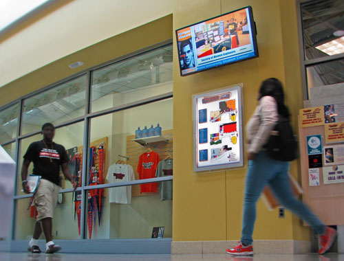 Morgan State Lobby Display