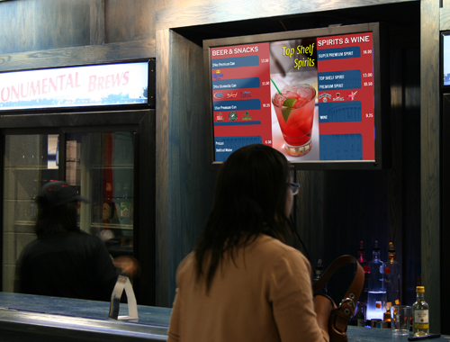 Verizon Center Concession Stand Menus