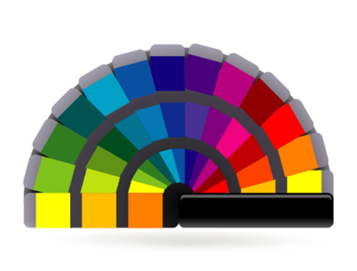 Content color wheel