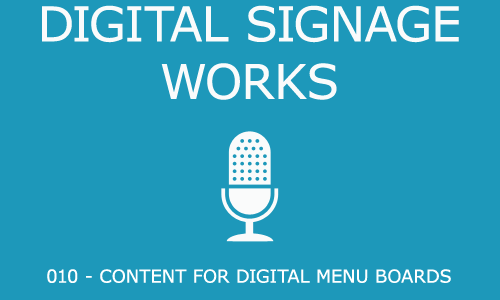 010 – Designing Content for Digital Menu Boards